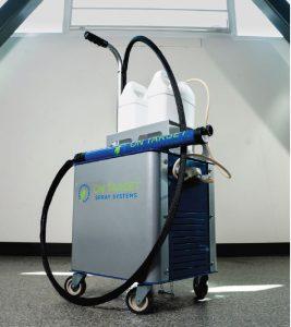 Electrostatic Sprayer On Target Barfield image