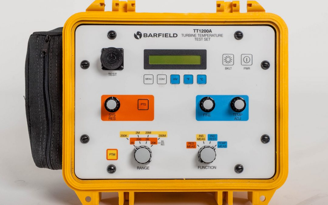 TT1000 Temperature Tester - Barfield Front