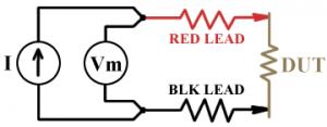 2 wire diagram measure resistance
