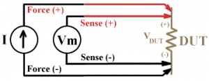 4 wire measurement diagram kelvin